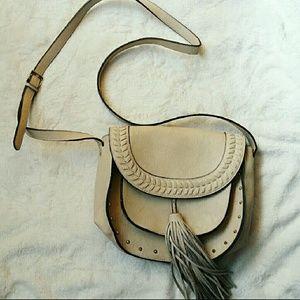 Steve Madden Crossbody Studded Fringe Bag
